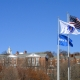 Bentley University Flags