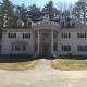 White New England House