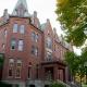 Large red brick collegiate building