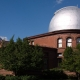 Red brick observatory