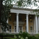 Southern house with white columns