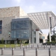 Large collegiate modern building
